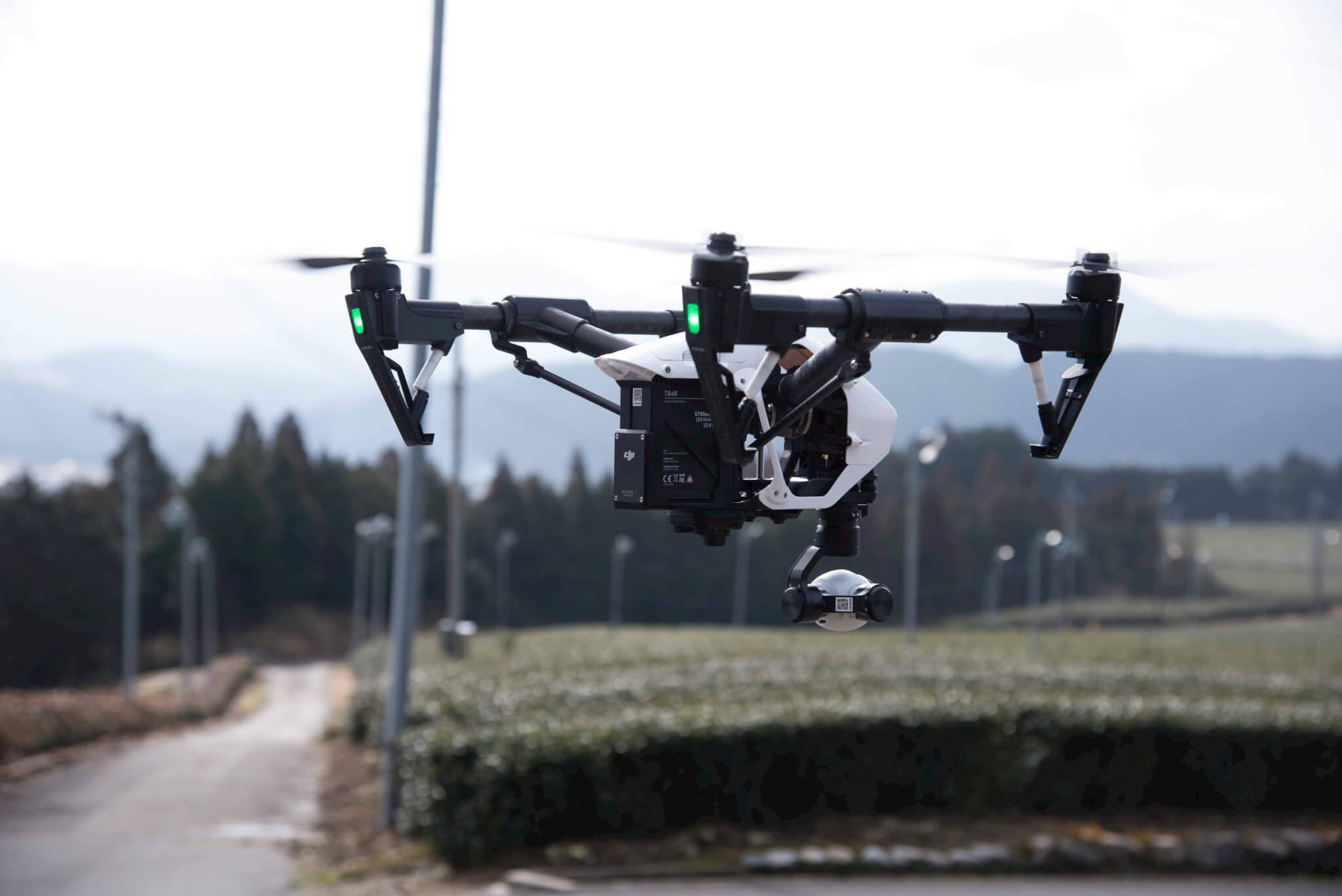 ドローン空撮動画撮影のイメージ
